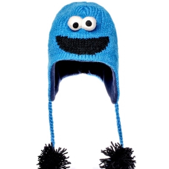 Cookie Monster Toque -Fleece Lined ADULT